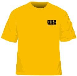 """画像1: オリジナルTシャツ""""GB2""""ゴールドイエロー"""