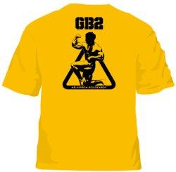 """画像2: オリジナルTシャツ""""GB2""""ゴールドイエロー"""